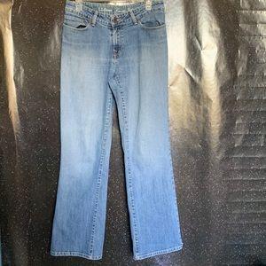 L.L. Bean- Bootcut Jeans size 10R